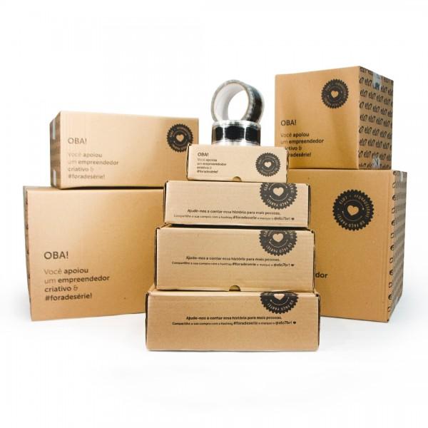 Kit Experimentação - 8 caixas + 1 fita